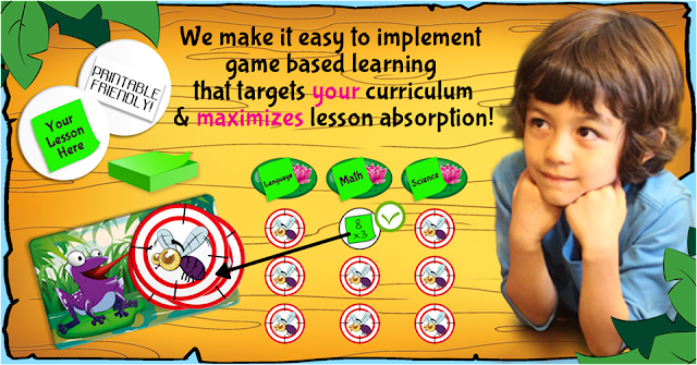 educational games that you can use for any subject, any material