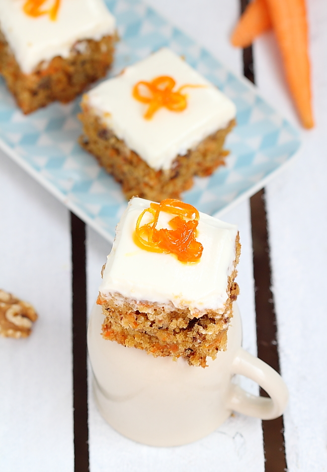 Pierre Herme Carrot Cake