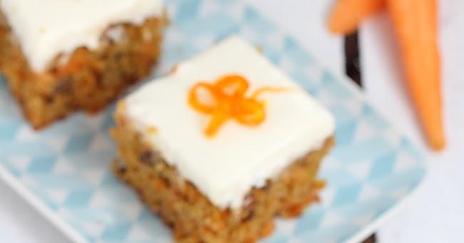 Cake Carottes Noix Raisins