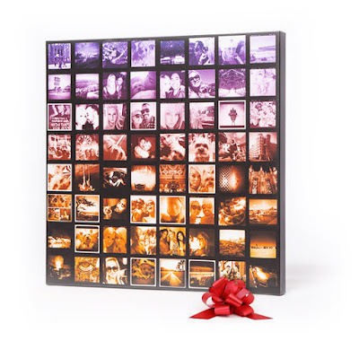 CanvasPop Square Canvas Mosaic Art Gift Idea  |  www.3Garnets2Sapphires.com