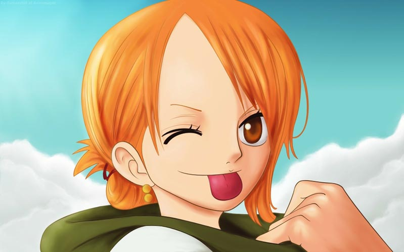 Nami | One Piece Anime Hot Chick Sexy Photos | Boobs and Cuffs