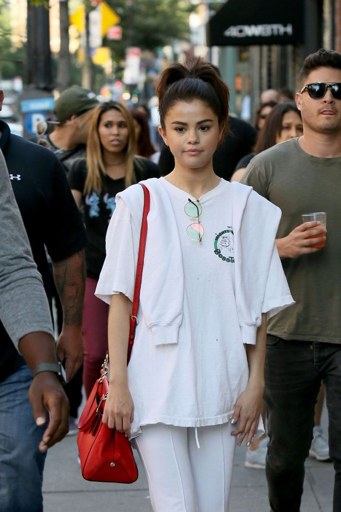 Selena Gomez Cute Street Style Out in NYC Photos