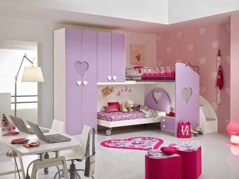 exciting cute girly bedroom ideas | Cute Girly Bedrooms Designs and Ideas - dashingamrit
