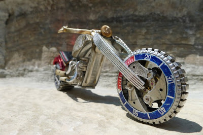20 Awesome Wristwatch Motorcycles.