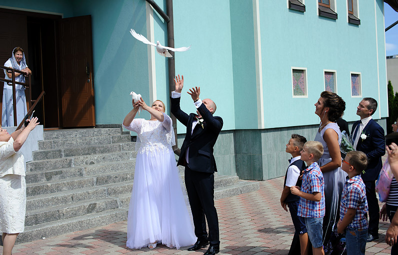 Vestuvės Palangos Iveros Dievo Motinos ikonos garbei bažnyčioje