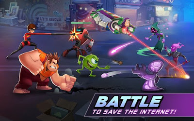 Disney Heroes Battle Mode MOD APK v0.4.1 for Android Original Version Terbaru 2018