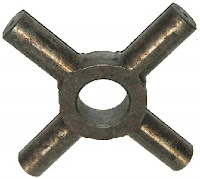 Cross pin or spider