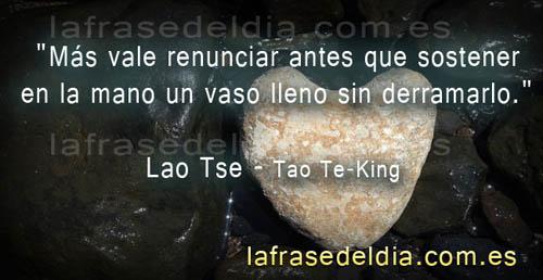 Frases de Lao Tse – Tao Te-King