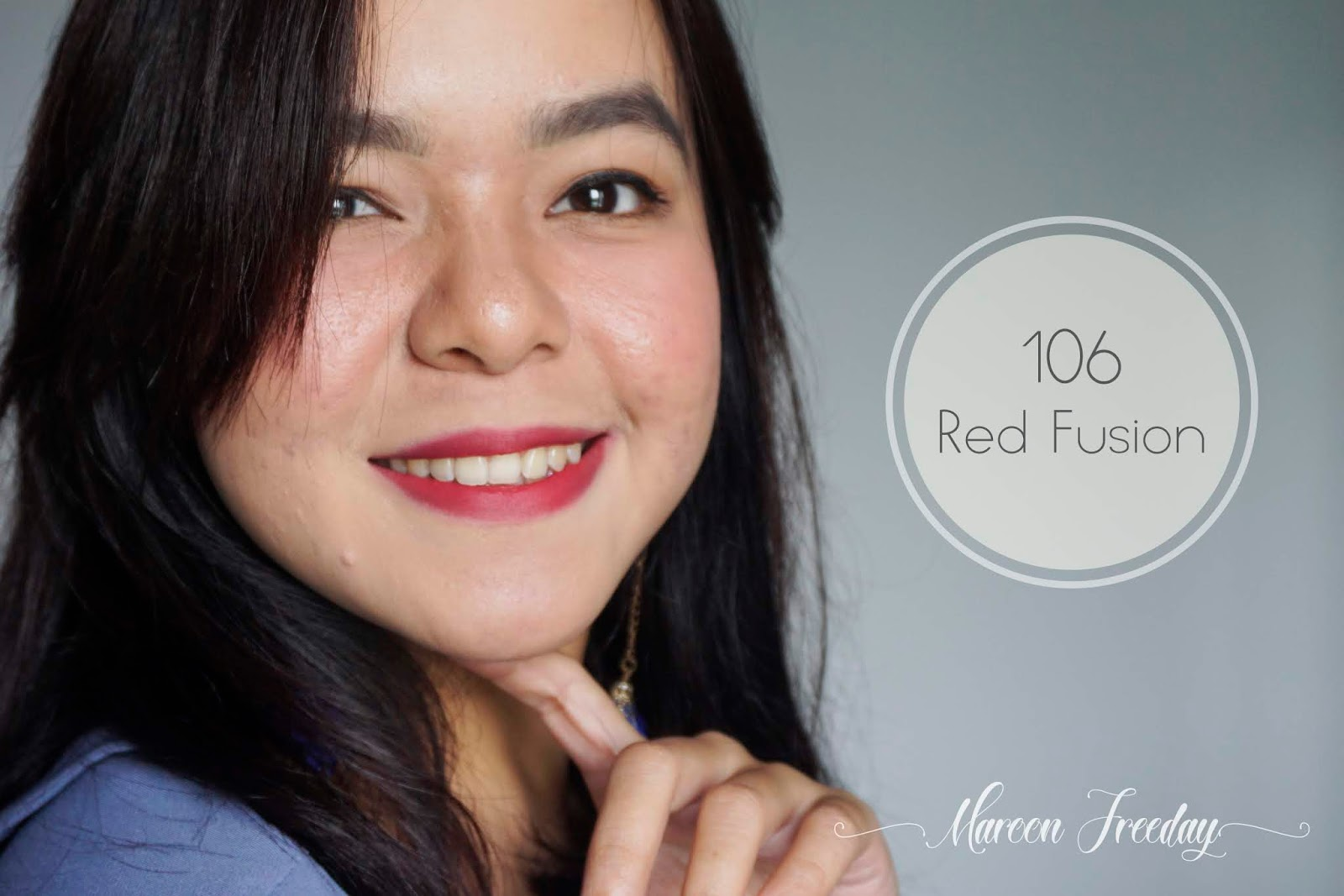 Pixy Matte in Love 106 Red Fusion