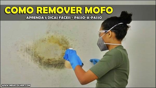 remoção de mofo da parede
