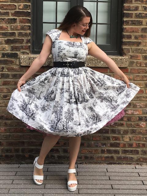 bernie dexter toile véronique dress