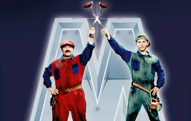 Super Mario Bros The First Movie Based On A Video Game Warped
