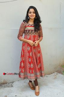 Telugu Actress Nikhila Vimal Latest Stills in Anarkali Dress  0189.JPG