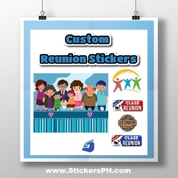 Custom Reunion Stickers Philippines
