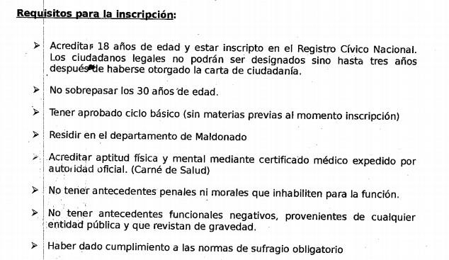 Llamado Ceip Maldonado Personas Con Ciclo B Sico