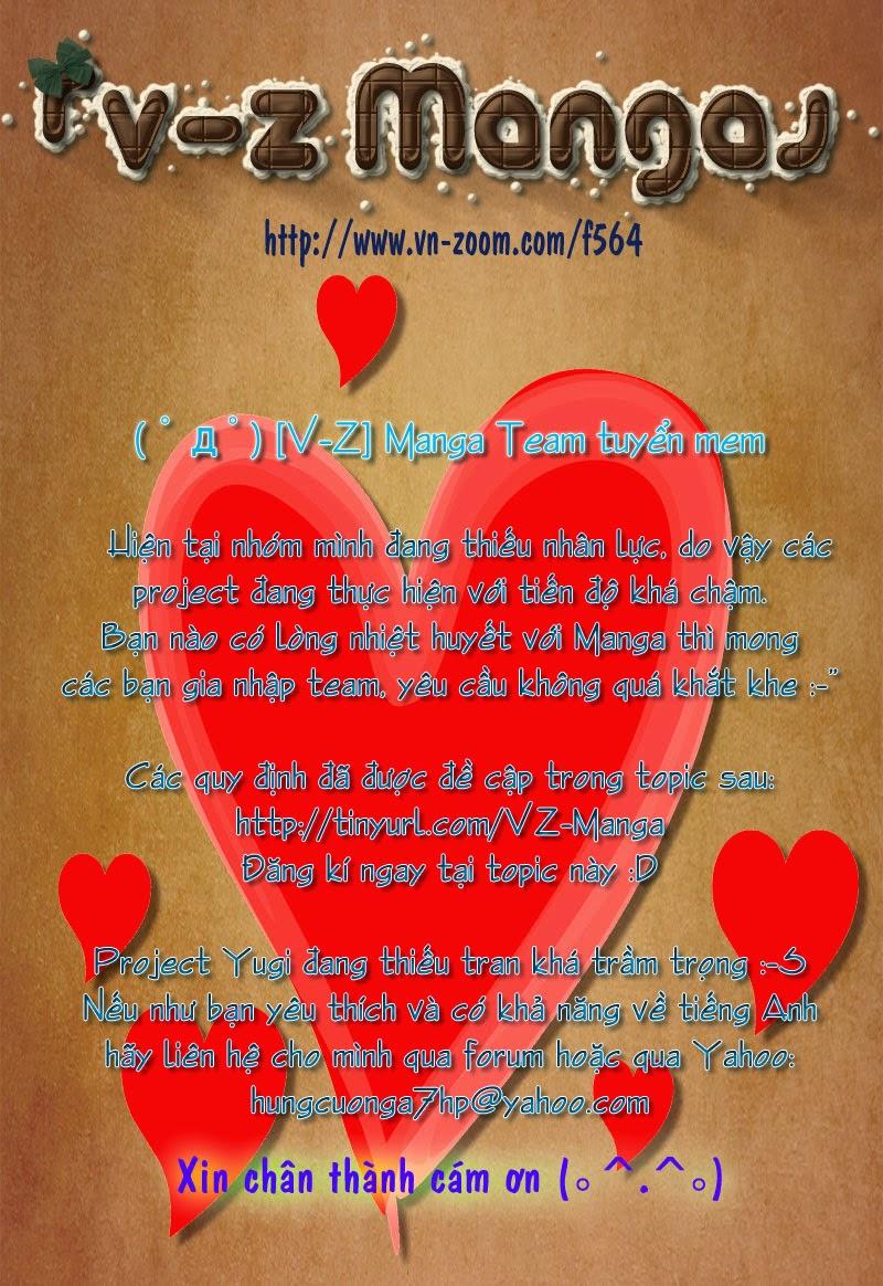 YUGI-OH! chap 273 - kiếm thần - khiên thần trang 22