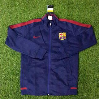 gAMBAR DESAIN terbaru jaket barca musim depan Jaket Barcelona warna biru navy terbaru musim 2015/2016 di enkosa sport