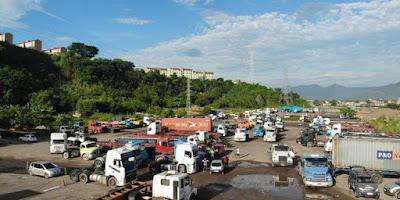 Docas selecionará área para estacionamento dos caminhoneiros