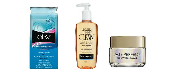evening cleansing routine