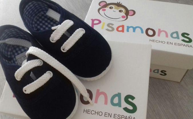zapatos de lona para niños y niñas - pisamonas