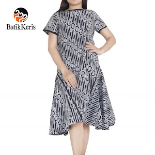 model baju batik sackdress terbaru