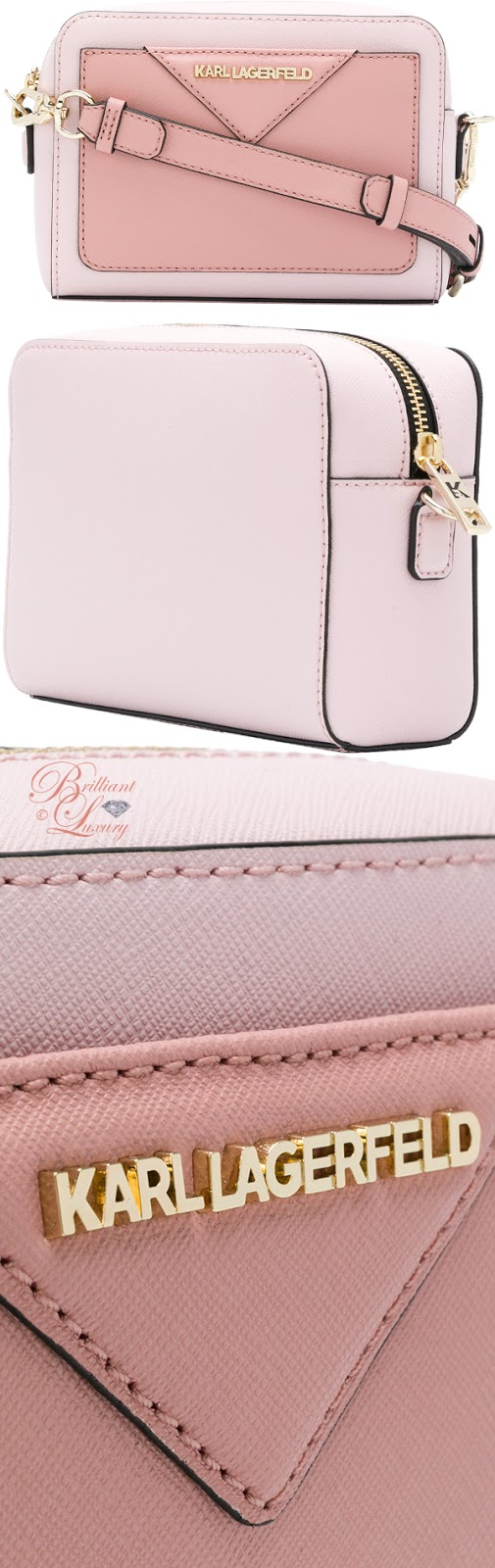 Brilliant Luxury ♦ Karl Lagerfeld Klassik camera bag