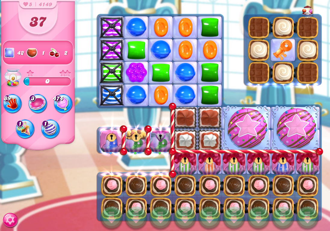 Candy Crush Saga level 4149