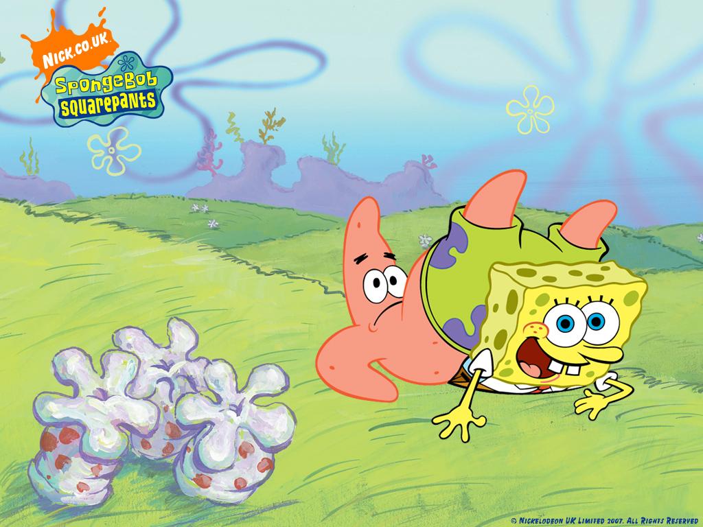 Patrick and SpongeBob Wallpaper | Cute Spongebob Wallpapers