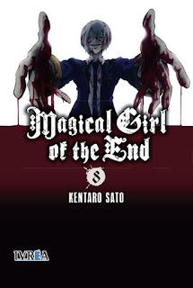 MAGICAL GIRL OF THE END 8  Manga de Kentaro Sato Magical girl of the end en la wikipedia