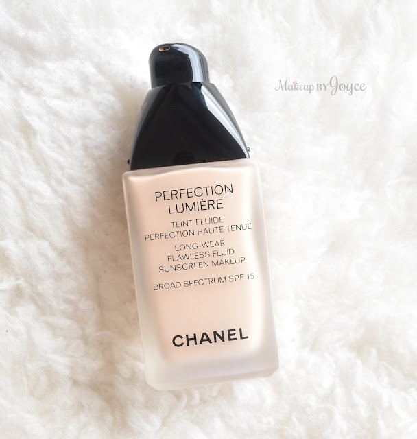 Chanel Perfection Lumiere Long-Wear Flawless Fluid Sunscreen Makeup Broad Spectrum SPF 15 Foundation Review