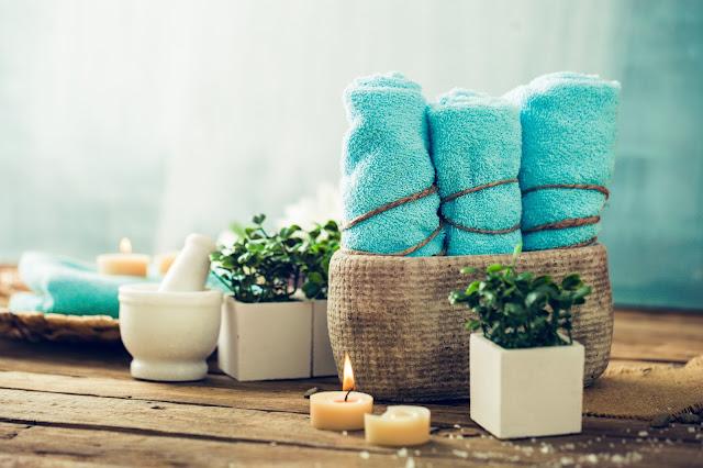 Set asciugamani colorati