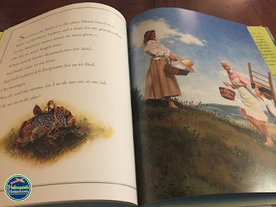 pages of the picture book