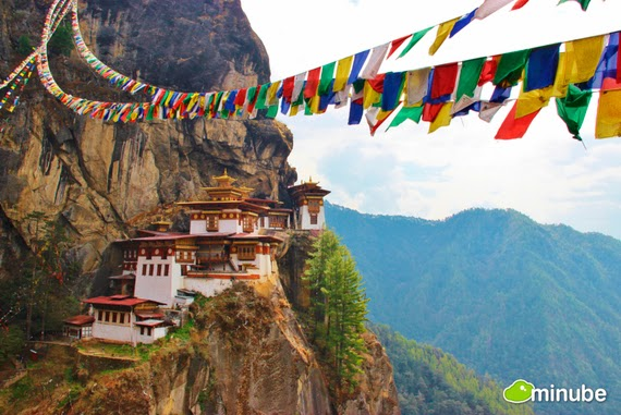 16.) Tiger's Nest, Bhutan - The 19 Most Stunning Sacred Places Around the World