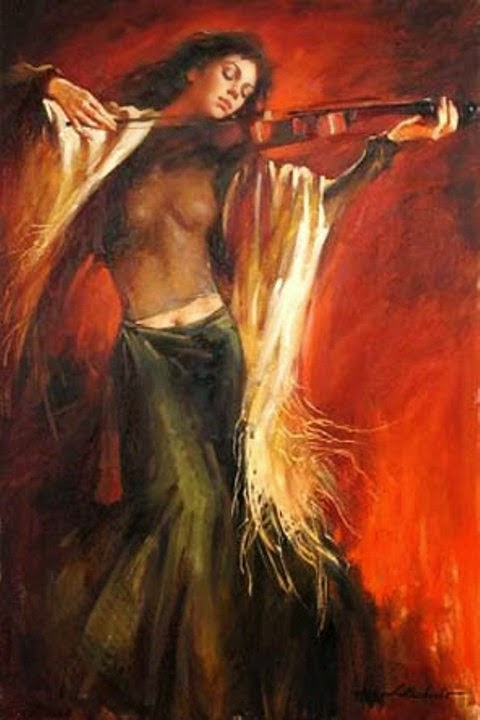 Perdida na Música - Andrew Atroshenko - Um pintor impressionista romântico