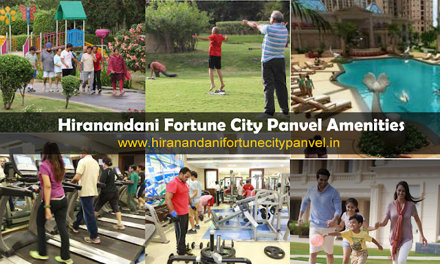 Hiranandani Fortune City Amenities