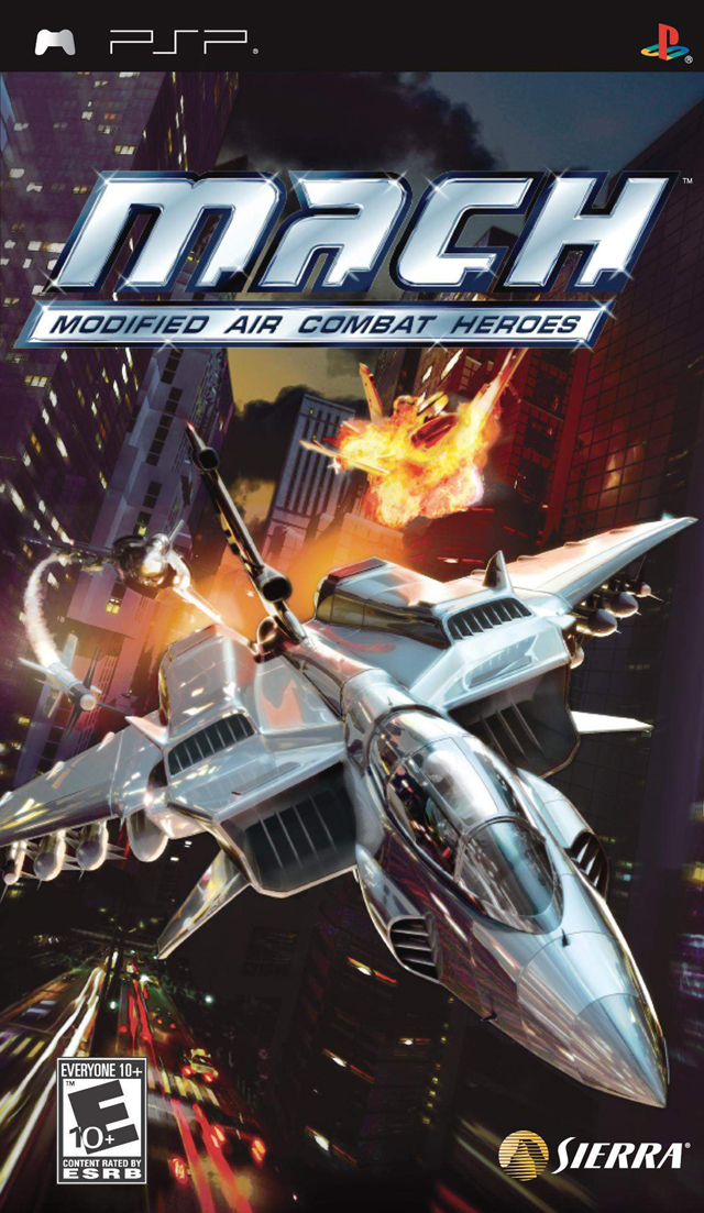 M.A.C.H. - Modified Air Combat Heroes - PSP - ISO Download