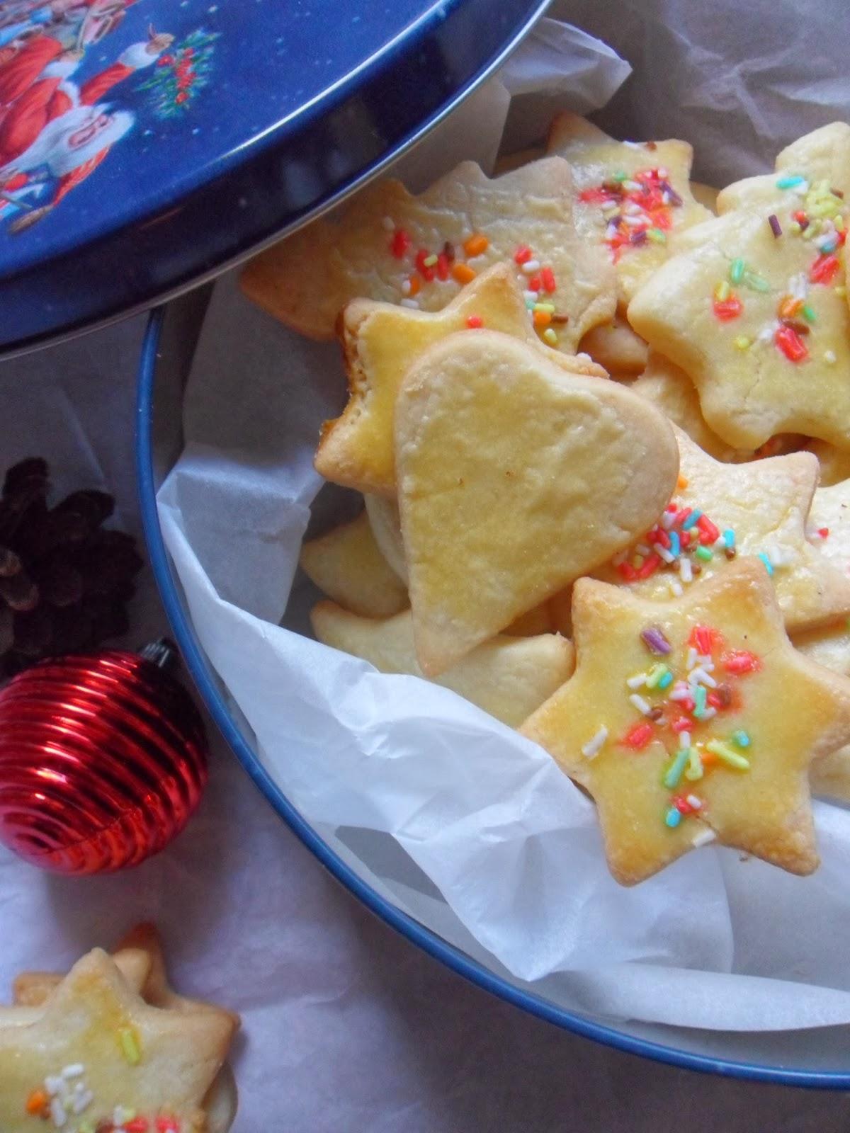 Enies Weihnachtsplätzchen.Mia S Cookies And More Buttergebackenes