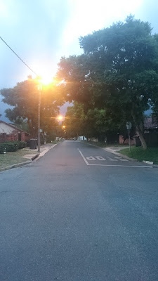 Maria Street uphill intersection