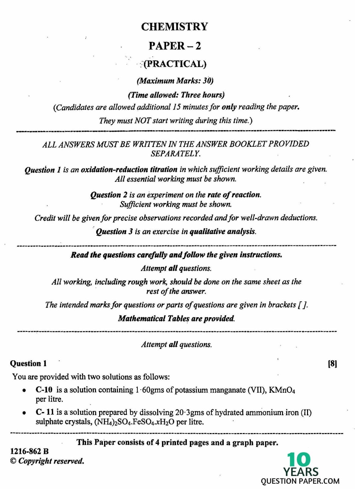 chemistry papers online english literature essay topics proper format for essay writing