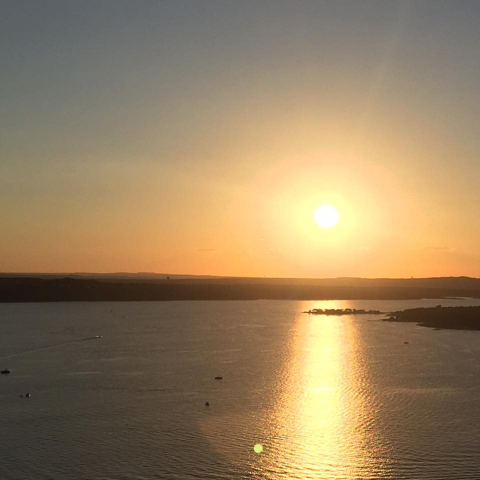 Austin At Dusk: Austin Mogger : Sunset At The Oasis On Lake Travis