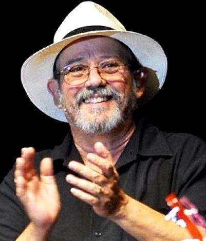 Foto de Silvio Rodríguez sonriendo