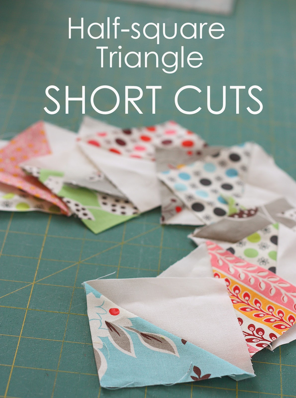 Half Square Triangle Short Cuts : half square triangle quilt - Adamdwight.com