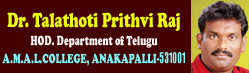 Dr.Talathoti Prithvi Raj