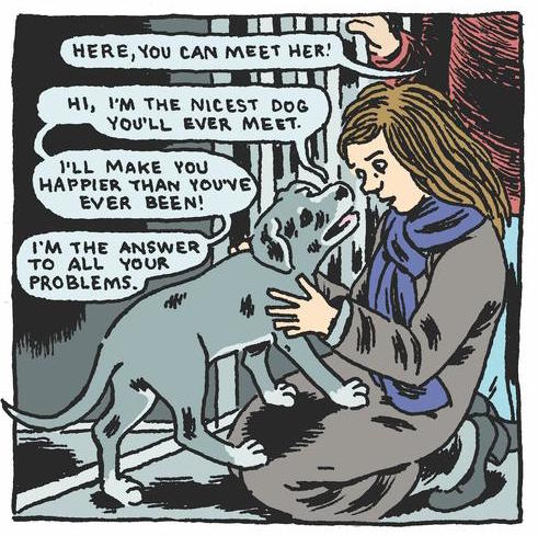 'The Nicest Dog,' by Gabrielle Bell.
