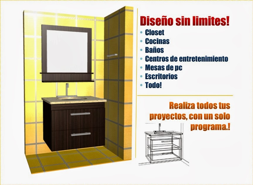 Programa dise o muebles 3d for Software diseno de casas