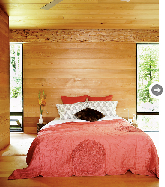 modern cottage bedroom mix and chic home tour a sleek and modern cottage 12556
