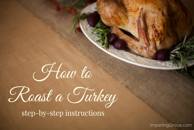 Easy instructions for how to roast a turkey