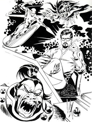 John Buscema, self-portrait