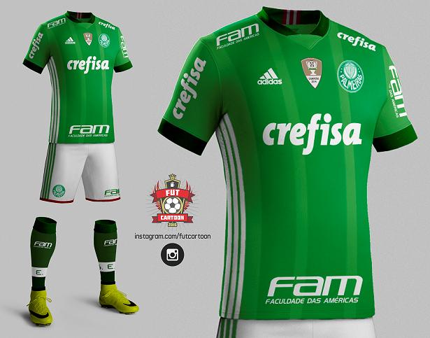 0240dcb723 E se fosse assim - Sociedade Esportiva Palmeiras (SP) - Show de Camisas