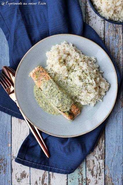 Ofenlachs mit Senf-Honig-Dillsoße | Rezept | Essen | Kochen | Weight Watchers